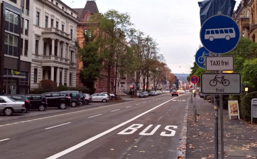 Maßnahmen für fließenderen Busverkehr