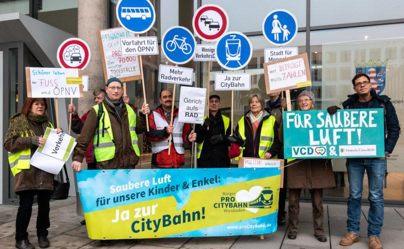 Gerichtsverhandlung über den Luftreinhalteplan der Stadt Wiesbaden – ein Zwischenfazit