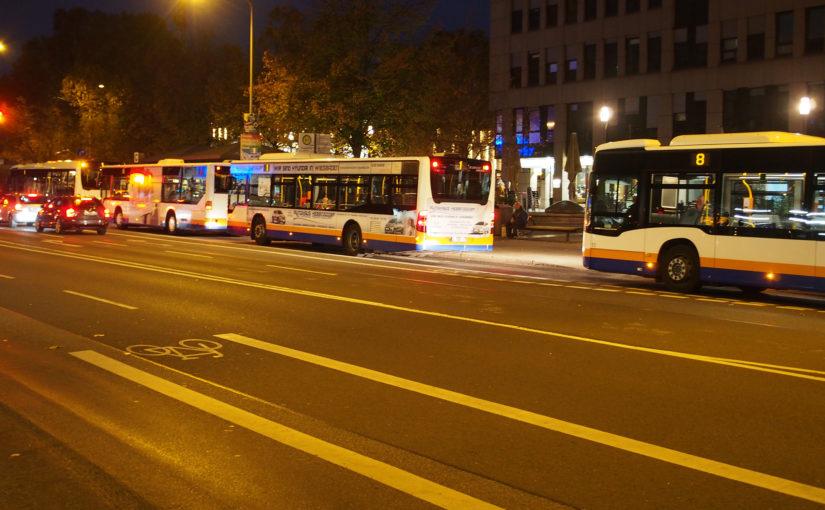 Bussystem an der Belastungsgrenze