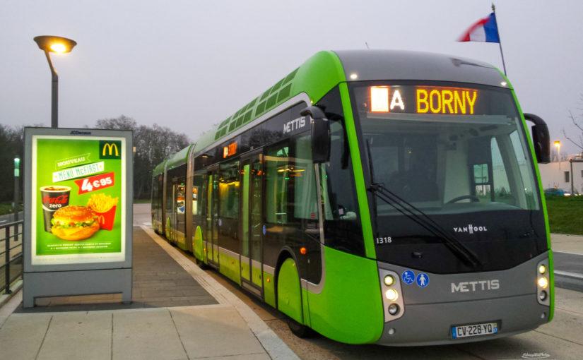 Infrastruktur eines BRT