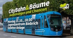 Info-Abend: Bäume und die CityBahn @ Jugendzentrum Biebrich, Galatea-Anlage