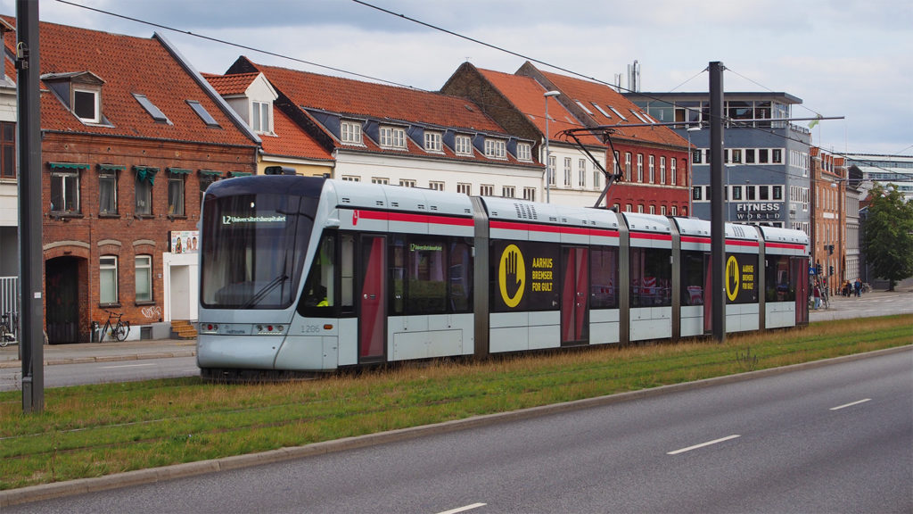 Rasengleis in Aarhus