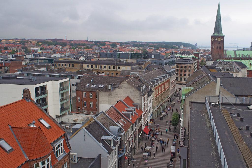 Aarhus Stadtansicht