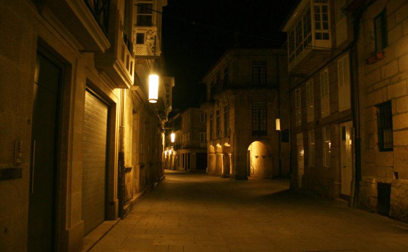 19.12. Pontevedra: Kaum noch Autos – und der Einzelhandel freut sich