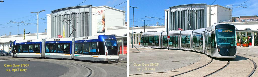 Spurbus und Straßenbahn