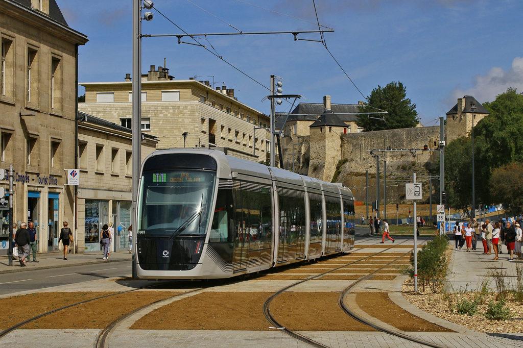 Straßenbahn in Caen - historisches Umfeld