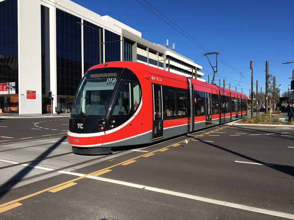 Straßenbahn Canberra
