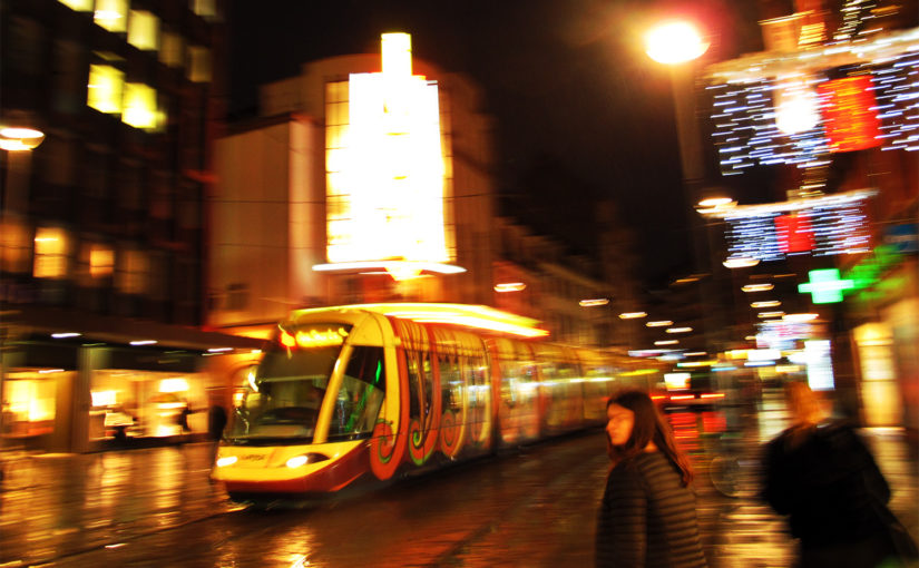 Straßburg: Die Straßenbahn als rollendes Kunstwerk