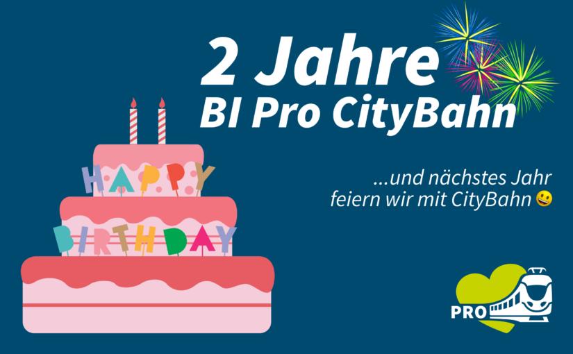 Zwei Jahre BI Pro CityBahn