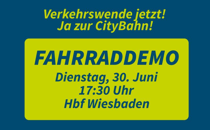 Verkehrswende jetzt – die Straßenbahn für Wiesbaden durchsetzen!