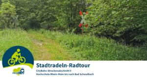 Stadtradeln-Radtour: CityBahn II @ Start: Elsässer Platz, Wiesbaden