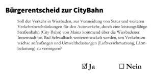 Bürgerentscheid @ Wahllokal